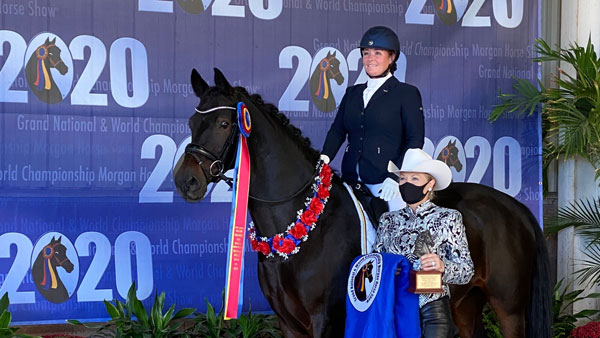 Rockwall equestrian wins world title
