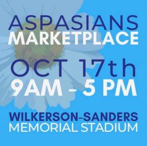 Aspasians Marketplace @ Wilkerson-Sanders Memorial Stadium
