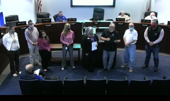 Rockwall city council recognizes Domestic Violence Awareness Month