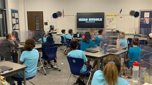 Hero Huddle closes out first nine weeks at Rockwall's Hamm Elementary