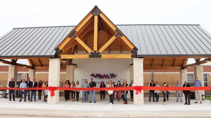 Amy Parks-Heath Elementary School unveils new Outdoor Learning Center