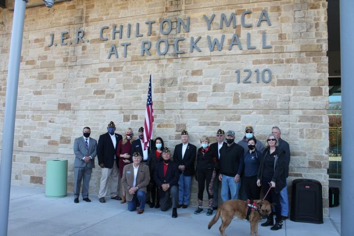 Rockwall YMCA honors veterans with special ceremony
