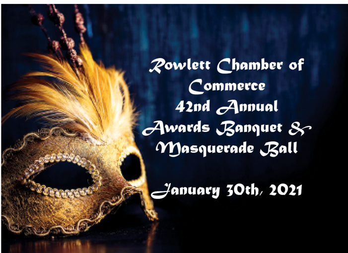 Rowlett Chamber seeks awards nominees, Masquerade Ball set for Jan 30