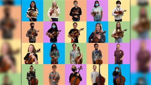 Twenty Rockwall High students earn spot in TMEA Region 3 All-Region Orchestra