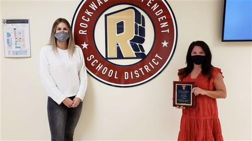 Rockwall ISD Finance Department honored by Texas Association of School Business Officials