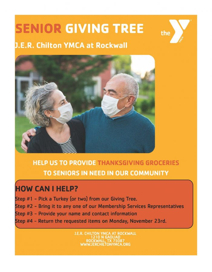 Rockwall YMCA, Meals on Wheels partner to provide Thanksgiving groceries to seniors in need