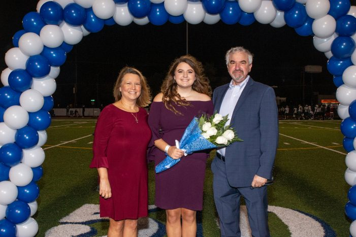 Anna Claire Strohmeyer selected for Episcopal School of Dallas Homecoming Court