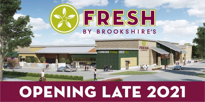 Groundbreaking Wednesday for FRESH by Brookshire's in Fate
