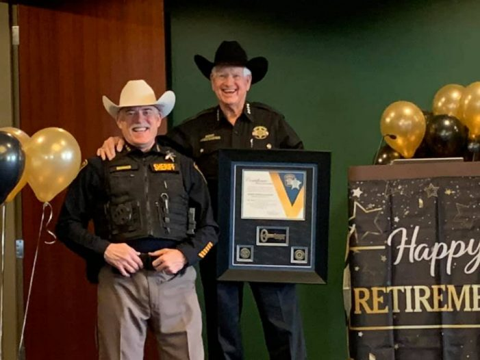 Retiring Rockwall County Sheriff Harold Eavenson honored with 'Appreciation Day'