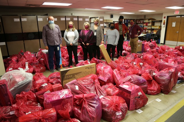 Garland ISD staff set record number of Salvation Army Angel adoptions
