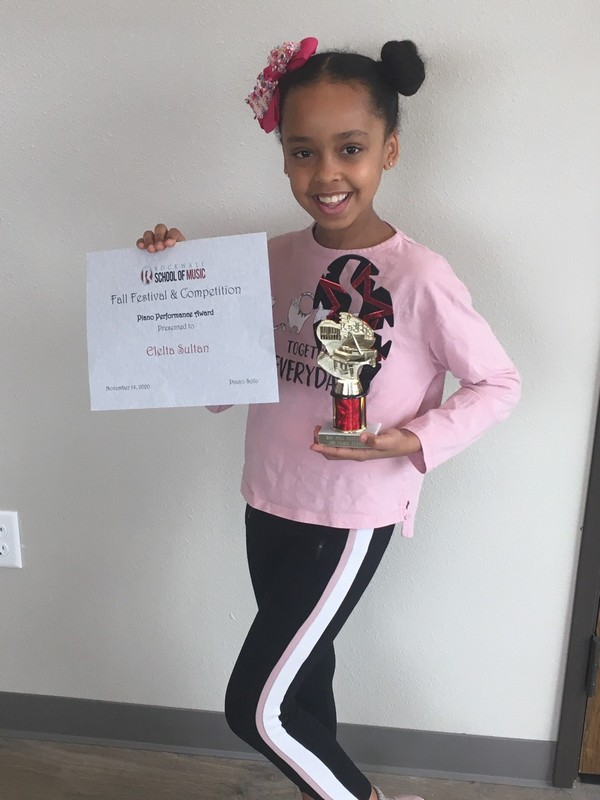 Piano - Early Beginner 2nd Place Elelta Sultan