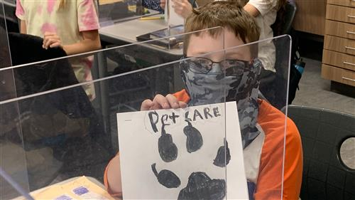 Reinhardt Elementary students close the book on non-fiction writing units