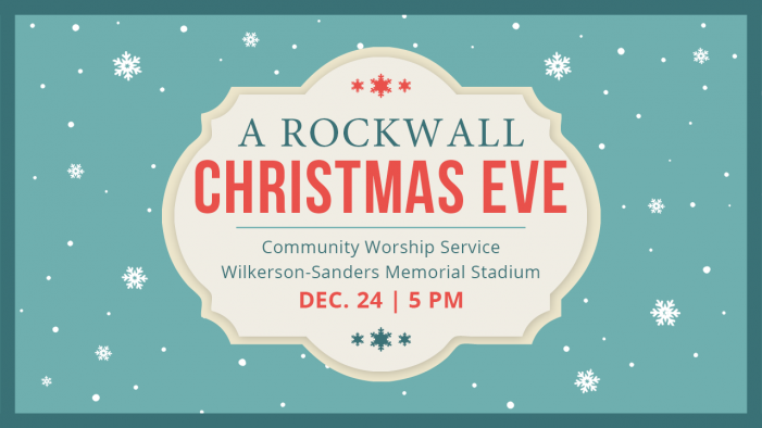 'A Rockwall Christmas Eve': Outdoor Community Worship Service planned at stadium