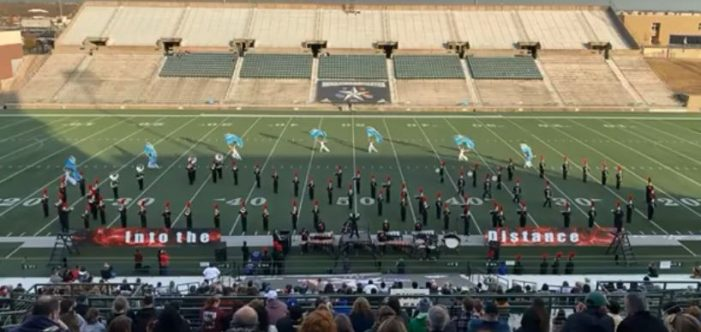 Rockwall-Heath Mighty Hawk Marching Band reaches finals for first time in 6A UIL Area C Marching Contest