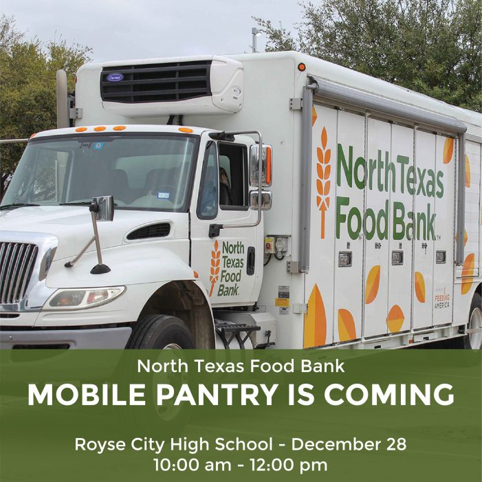 North Texas Food Bank to distribute food at Royse City High School to help feed hungry during COVID-19
