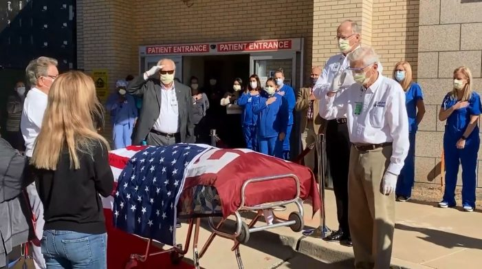 Final Salute at Texas Health Rockwall: Oldest known living Aggie dies at 106