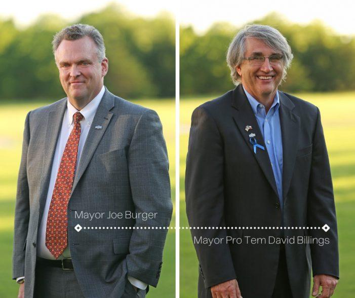 Fate Mayor Joe Burger resigns, Mayor Pro Tem David Billings assumes duties