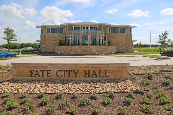 City of Fate to hold General Election May 1 for Mayor, two City Council members