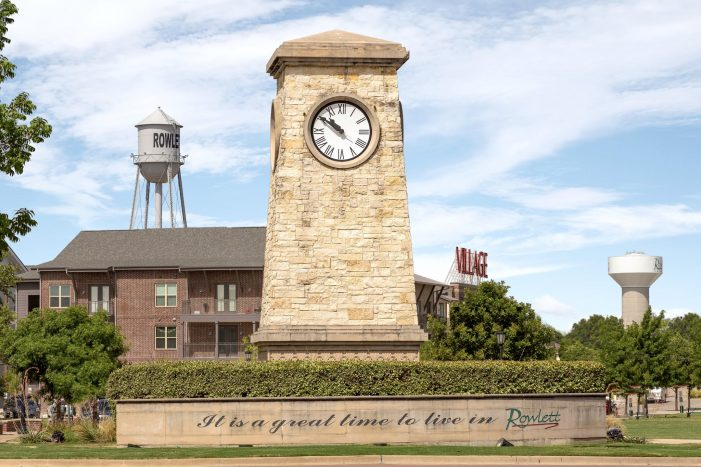 Message from City of Rowlett: Unity, rule of law, public safety