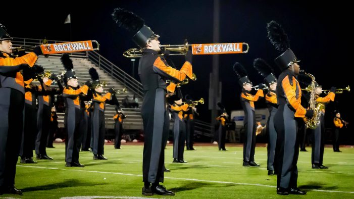 Rockwall High band members break school records for TMEA All-Region, Area Honors