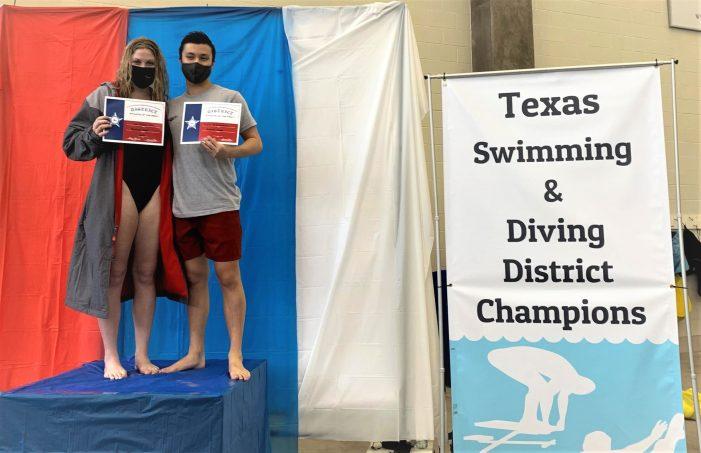 Heath Hawks make big splash at Texas Swimming and Diving District Championships