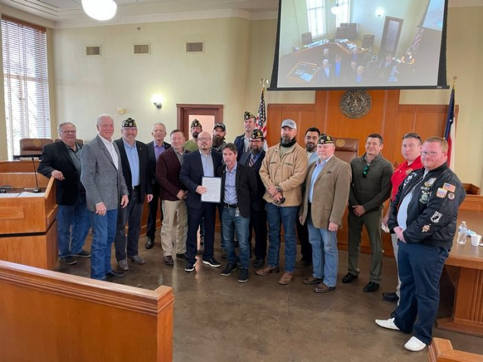 Rockwall County Commissioners Court honors post-9/11 veterans, Employees of the Quarter