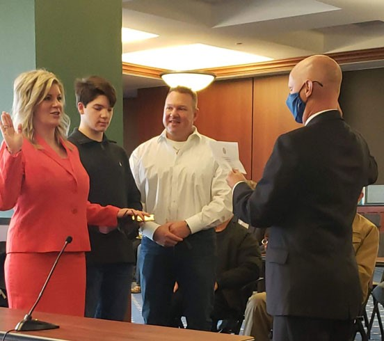 Rockwall County elected officials sworn into office