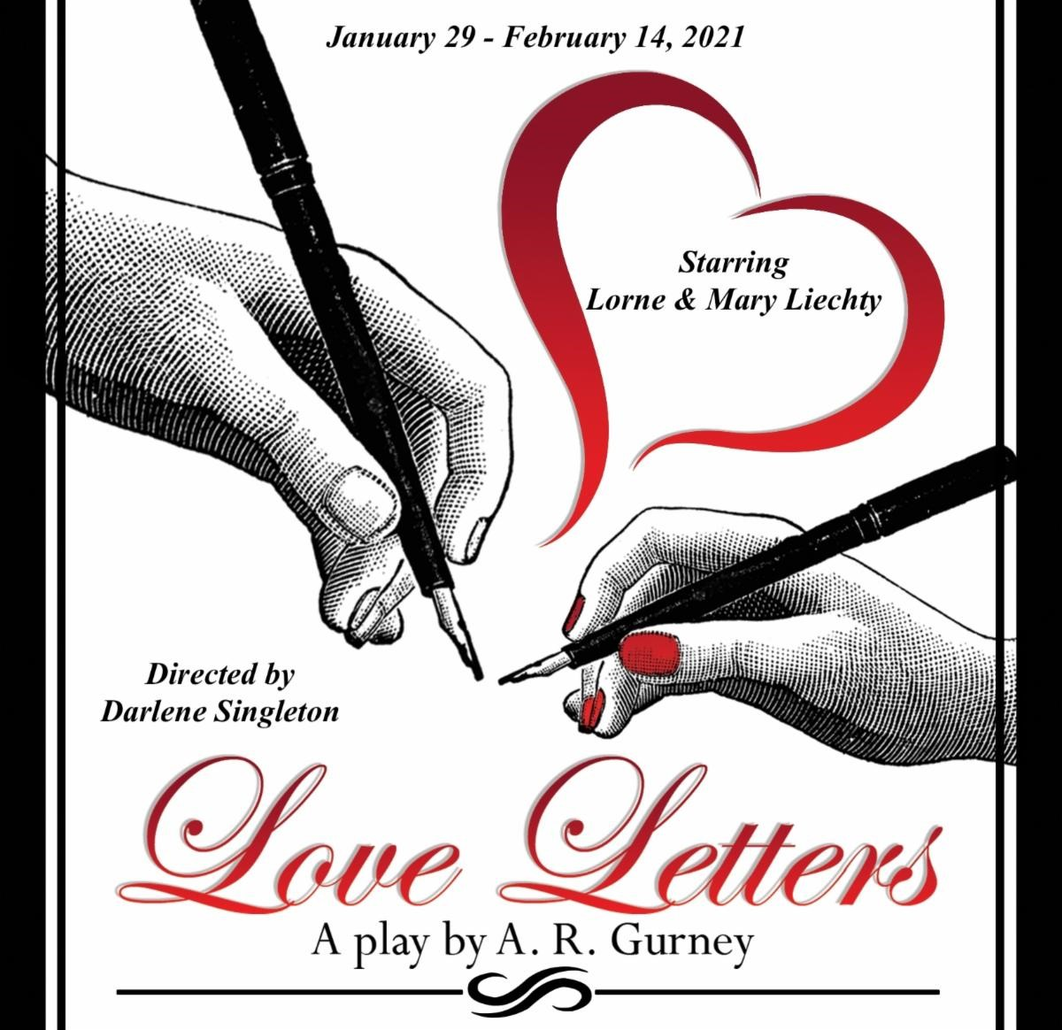 'Love Letters' opens at Rockwall Community Playhouse Jan. 29