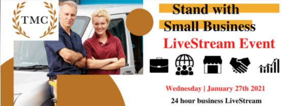 McGraw Council invites you to 'Stand with Small Business' in 24-hour live stream event