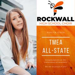 Rockwall High choir student earns highest honor as Texas All-State musician