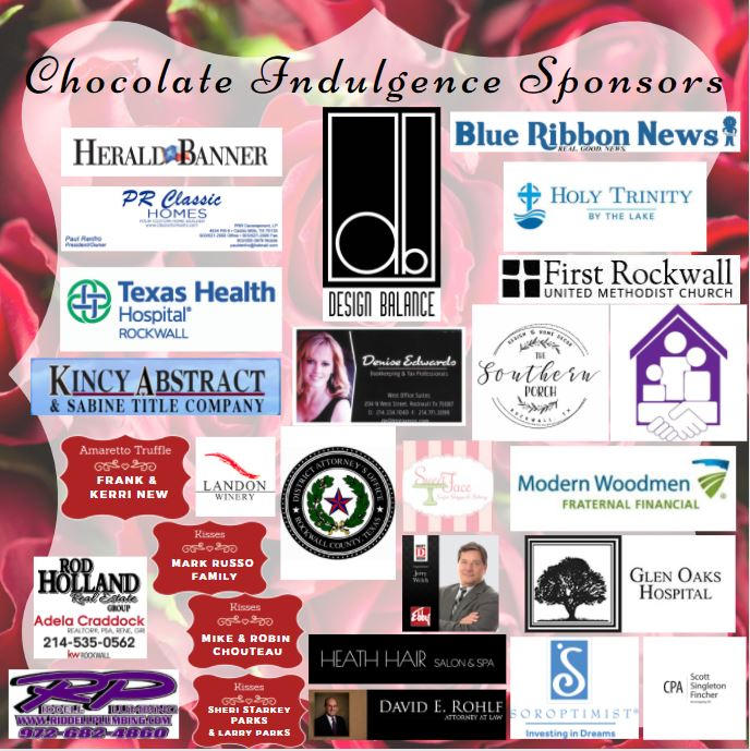 Chocolate Indulgence raises over $30,000 for families affected by domestic violence in Rockwall, Hunt, and Rains counties