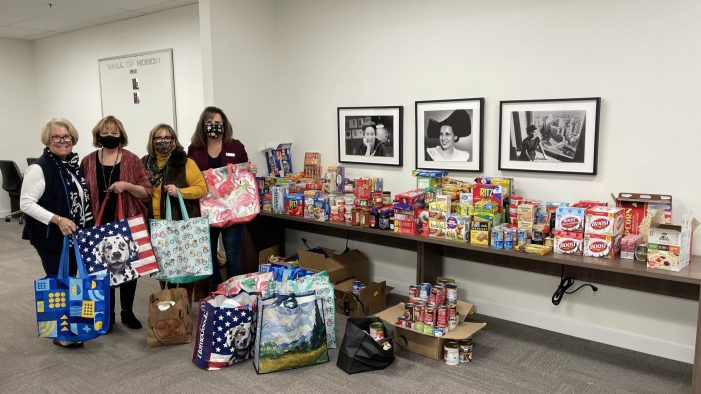 Ebby Halliday Realtors Rockwall office aids homebound seniors impacted by winter storm