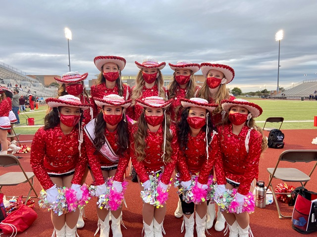 Rockwall-Heath Highsteppers Officers bring home awards from contest