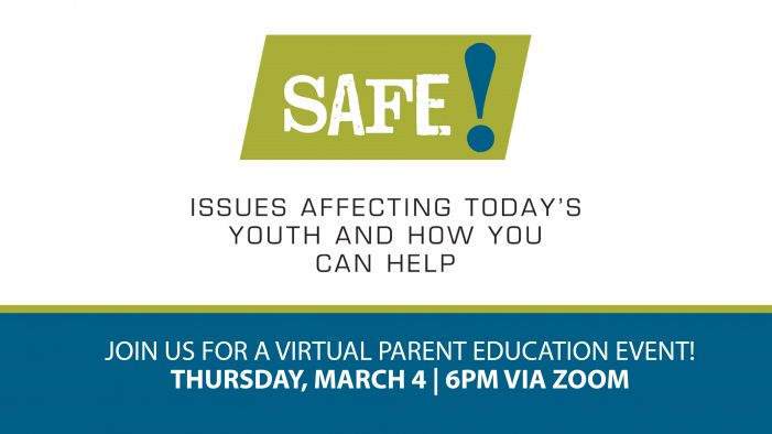 Rockwall ISD presents SAFE! virtual parent education event March 4