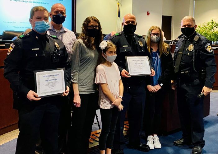 Rockwall police officers honored with Certificates of Merit