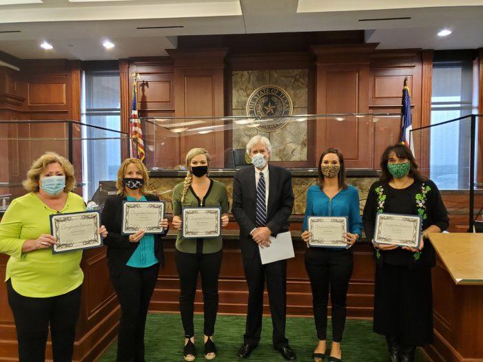 New Lone Star CASA volunteers sworn in