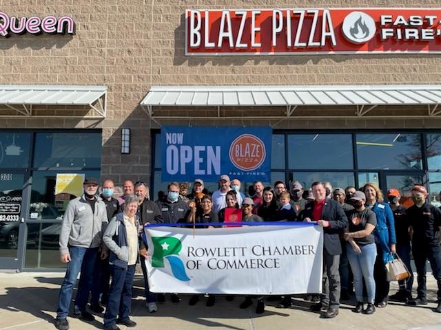 Rowlett Chamber welcomes Blaze Pizza