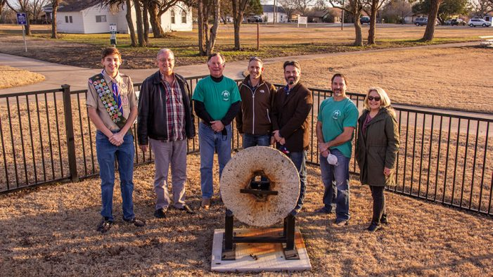City of Heath hosts PATH Project and Historic Grist Mill Stone Dedication