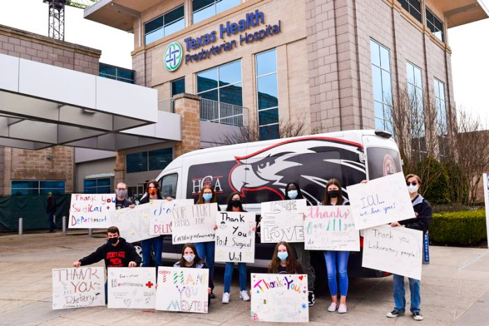 Heritage Christian Academy students show love and gratitude to local healthcare heroes