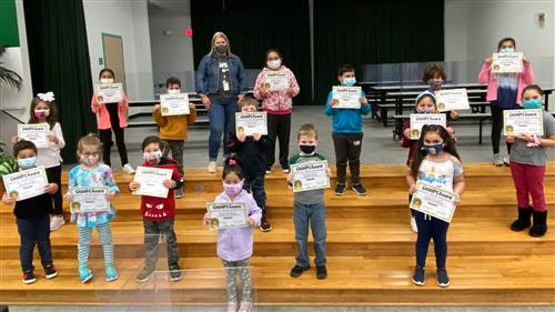 Jones Elementary students are CHAMPS for exhibiting empathy, kindness and gratitude