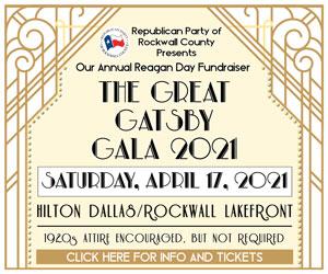 U.S. Representative Pat Fallon to emcee Rockwall County Republican Party Gatsby Gala Reagan Day event