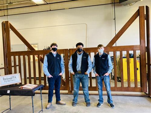Rockwall ISD Agricultural Mechanics students win big at Youth Fair