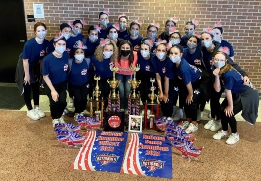 Rockwall High School Jacket Babes named Nationals Best of the Best