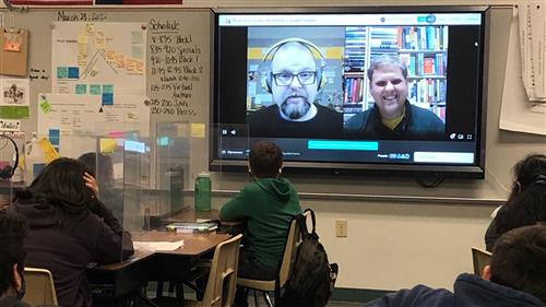 Jones Elementary students enjoy virtual field trips