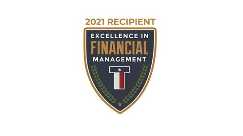 Rockwall ISD earns Excellence in Financial Management Award