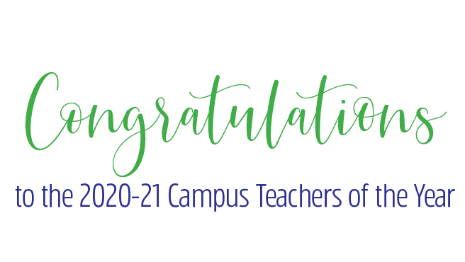 Garland ISD announces 2020-21 Campus Teachers of the Year