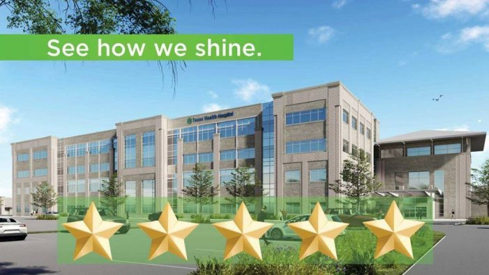 Texas Health Hospital Rockwall recognized nationally with 5-star rating