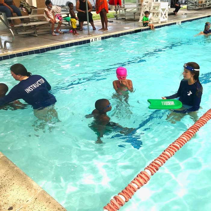 YMCA sets goal of eliminating childhood drowning in kids 4 and under