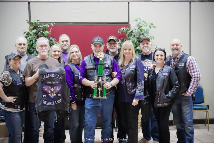 America's Guardians Motorcycle Club honored for community service, sets date for Rockwall County Bikes for Tykes