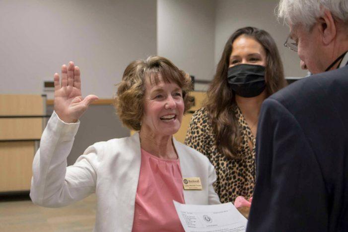 Rockwall ISD board members take Oath of Office, graduation ceremonies to be mask optional